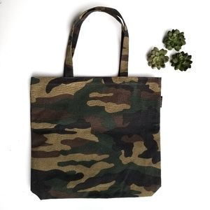 J. Crew Camouflage Tote NWT
